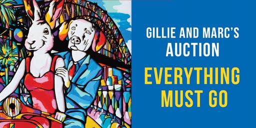 GILLIE AND MARC'S EVERYTHING MUST GO AUCTION