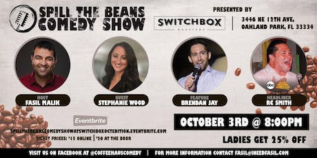 Spill the Beans Stand Up Comedy Show- Ladies Night tickets
