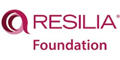 RESILIA Foundation 3 Days Training in Frankfurt
