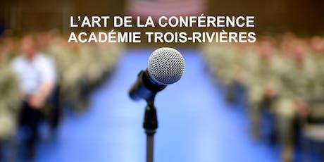 S'exprimer pleinement en public! Cours gratuit Trois-Rivières mercredi billets