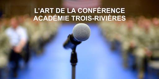 S'exprimer pleinement en public! Cours gratuit Trois-Rivières mercredi