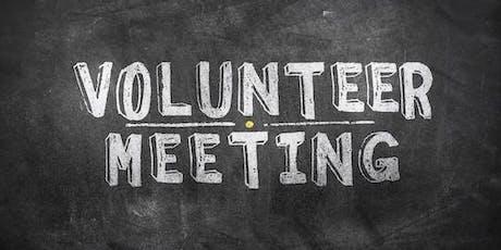 Volunteer & Planning Meeting tickets