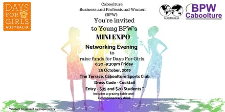 YBPW Mini Expo and Networking Evening tickets