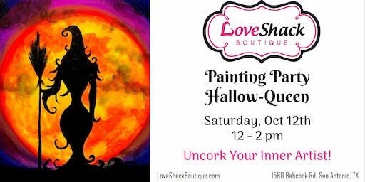 Painting Party ~ Hallow-Queen