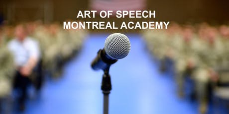 Become a Top Speaker! Free Course Montreal Monday tickets