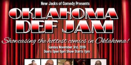 OKLAHOMA DEF JAM COMEDY SHOW TULSA OKLAHOMA tickets