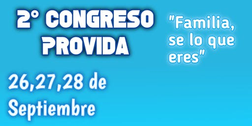 2do Congreso Nacional Pro Vida De Salta