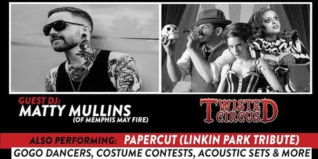 The Wicked Party w. Matty Mullins & Twisted Circus tickets