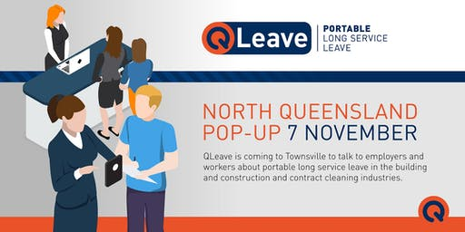 QLeave North Queensland Pop-Up