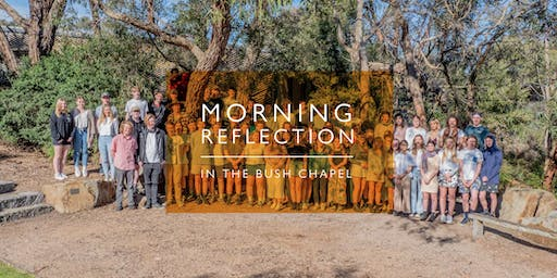 Year 12 Morning Reflection