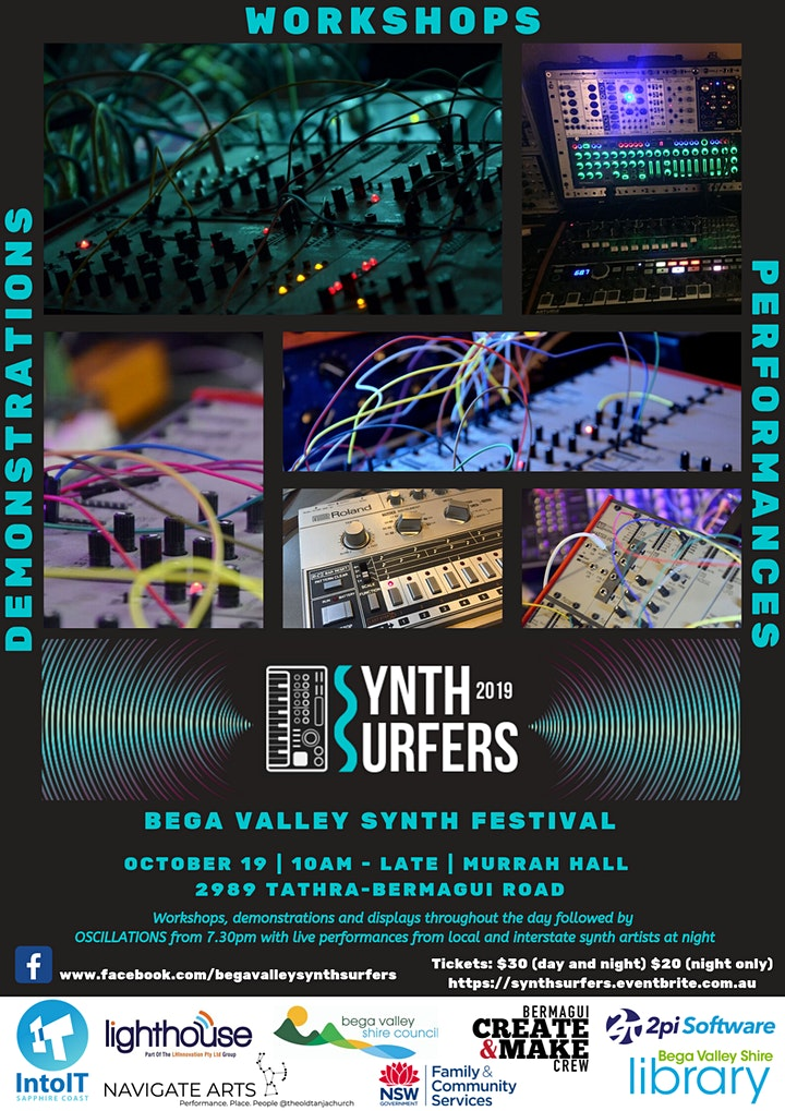 Synth Surfers- Bega Valley Synth Fest image
