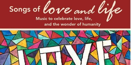 Songs of Love and Life - March 7 - Grosse Pointe tickets