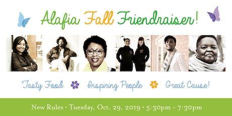 Alafia Foundation Fall Friendraiser at New Rules tickets