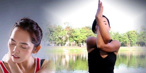 Yoga für entspannte Schultern- und Nackenregion