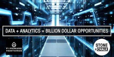 """Masterclass: """"Data + Analytics = Billion Dollar Opportunities"""" tickets"""