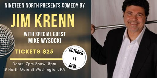 Comedy Night Featuring Jim Krenn with Special Guest Mike Wysocki