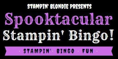 Spooktacular Stampin' Bingo! tickets