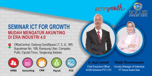 SEMINAR ICT FOR GROWTH : AKUNTING DI ERA INDUSTRI 4.0