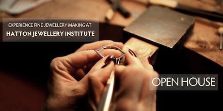 Hatton Jewellery Institute Open House: Information Day tickets