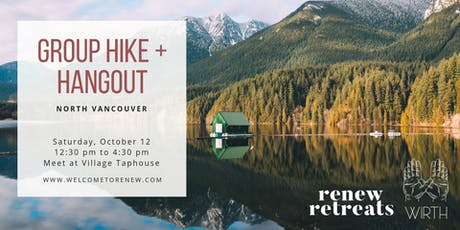 Renew Retreats x WIRTH Hats: Group Hike + Hangout tickets