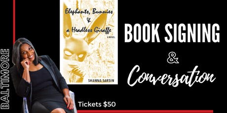 Book Signing & Intimate Conversation tickets
