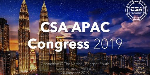 CSA APAC Congress 2019