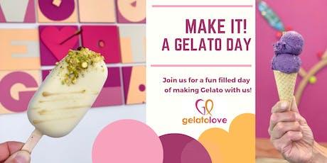 Make Gelato with Us! tickets
