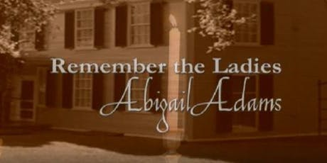 Lunch with Abigail Adams tickets