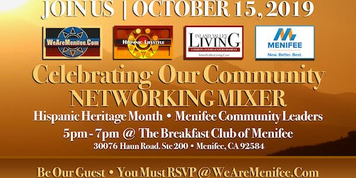 Celebrating Our Community Networking Mixer