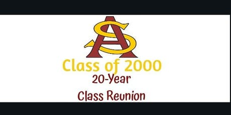 South Aiken High Class of 2000 Reunion...20 Years Later!! tickets