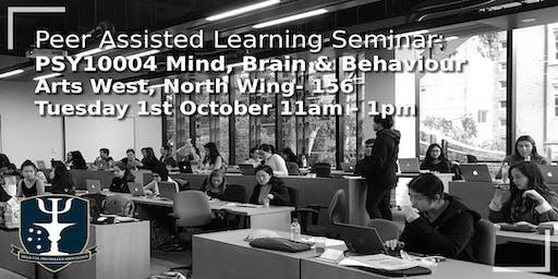 PALS Session: Mind, Brain & Behaviour 2 (Mid-Sem Break)