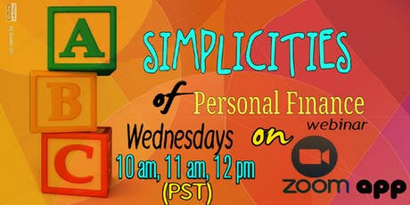 Simplicities of Personal Finance - LV tickets