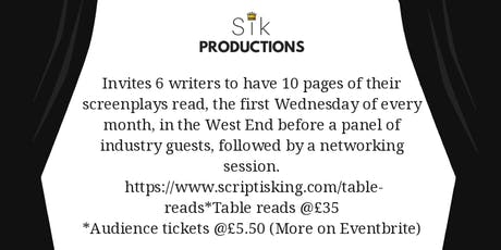 SIK TABLE READS tickets