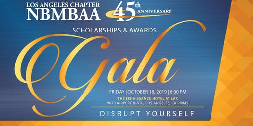 NBMBAA Los Angeles Chapter: 45th Anniversary Celebration