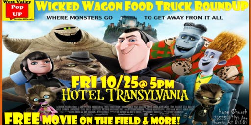 A Wicked Wagon Food Truck RoundUP, FREE Movie on the Field & More! Fri 10/25