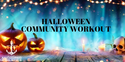 Halloween Community Workout and Pumpkin Carving