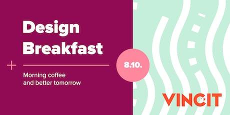 Design Breakfast Helsinki 8.10. tickets
