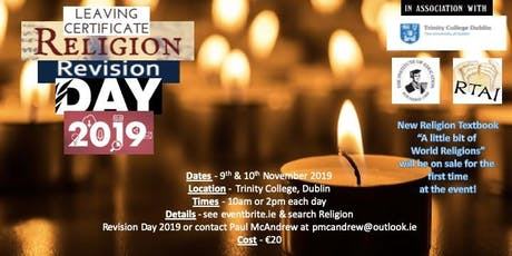 Religion Revision Day 2019 tickets