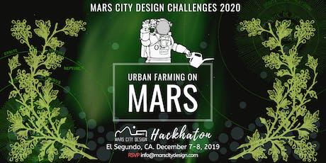 Mars Urban Farming Design HACKHATON tickets