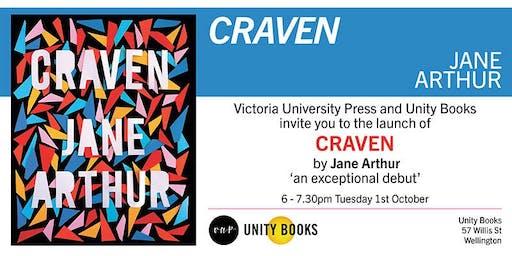 Book Launch   Craven by Jane Arthur