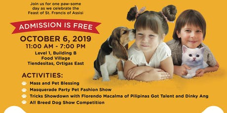 FUREVER BLESSED (PET BLESSING) & MASQUERADE PET FASHION SHOW tickets
