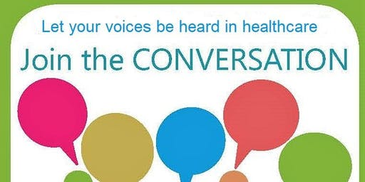 Community conversations in healthcare