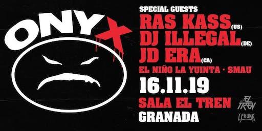 ONYX  & Ras Kass Live in Granada