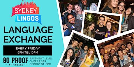 EVERY Friday - Sydney Lingos Language Exchange tickets