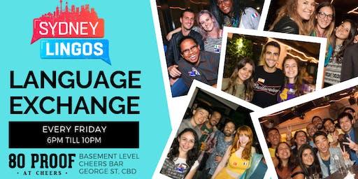 EVERY Friday - Sydney Lingos Language Exchange