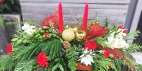 DIY: Christmas centrepieces tickets