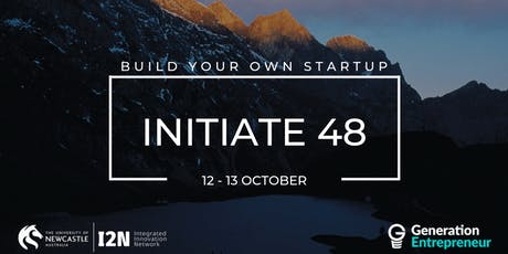 Initiate 48 (Oct 2019) - University of Newcastle tickets