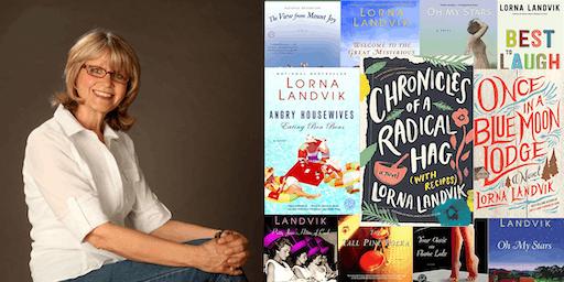Author/Comedian Lorna Landvik