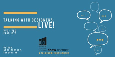 Talking with Designers: LIVE! tickets