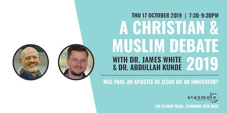 A Christian-Muslim Debate with Dr. James White and Dr. Abdullah Kunde tickets